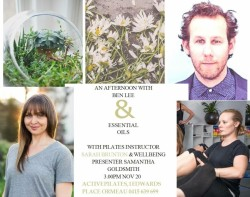 Aromatherapy event with Ben Lee